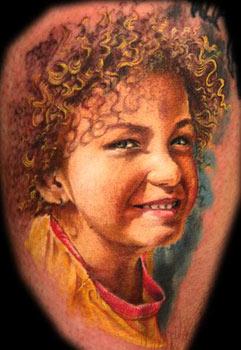 Tattoos - Portrait tattoo - 33085