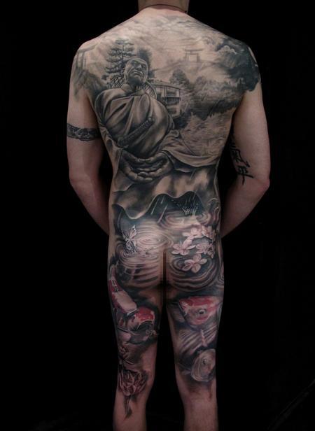 Tattoos - Meditation of the Samurai - 67036