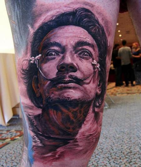 Tattoos - Salvador Dalí - 70135