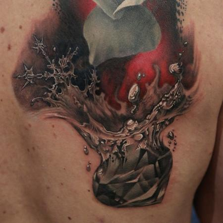Tattoos - FreeHand DiamondPiece - 102254