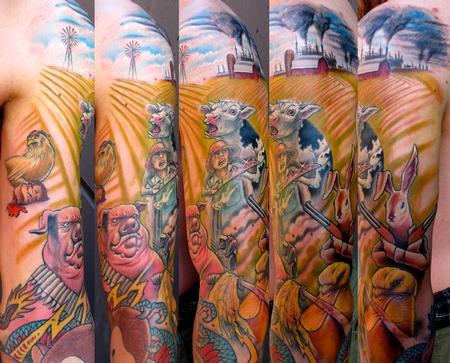 Tattoos - Animal farm Rebelion - 58219