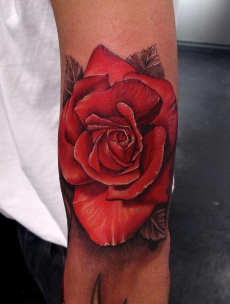 Tattoos - Rose  - 61021