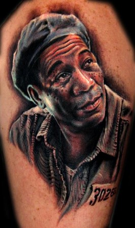 Tattoos - Morgan Freeman - 33906