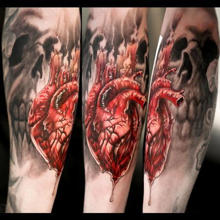 Tattoos - Dark Heart - 77856