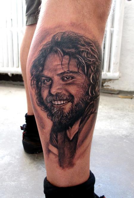 Tattoos - Brother Portrait B/G - 61006
