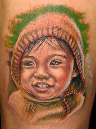 Tattoos - Hoodie Kid - 36823