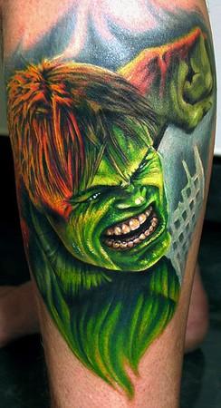 Tattoos - the Hulk - 36826