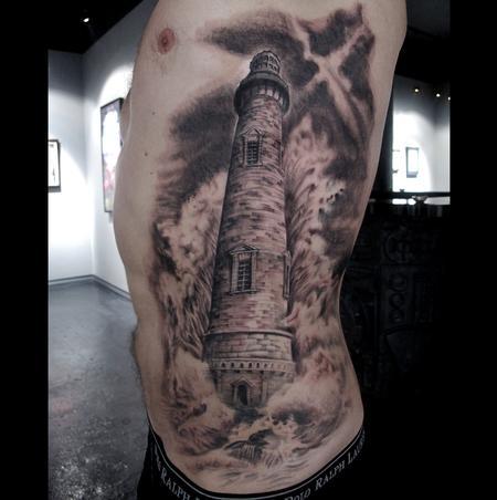 Tattoos - Lighthouse  - 74030