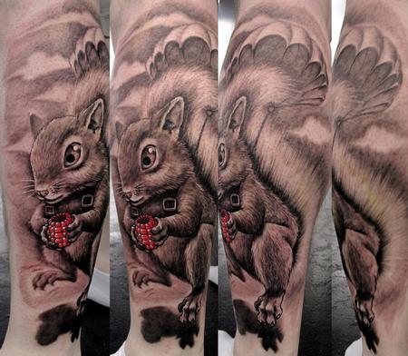 Tattoos - Squirrel - 64693