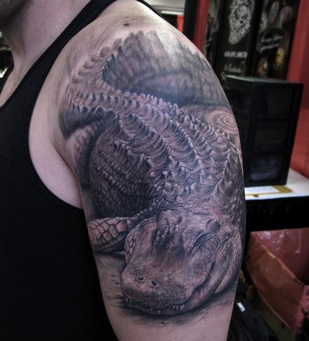 Tattoos - Alligator - 67860