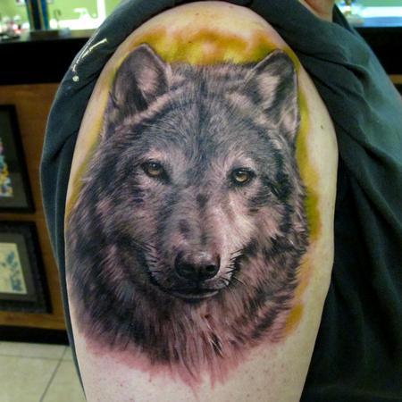 Tattoos - Wolf - 67961