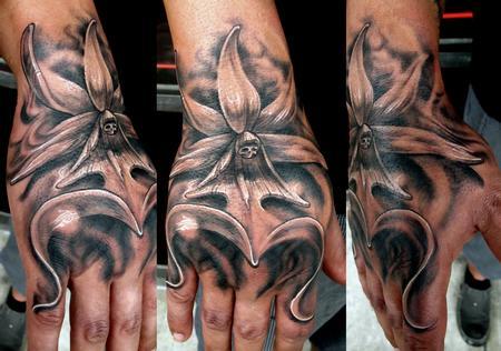 Tattoos - Ghost Flower - 68773