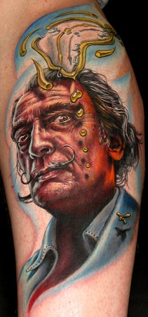 Tattoos - Dalí tattoo - 36428