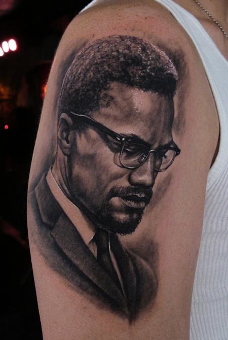 Tattoos - Malcolm X - 61007