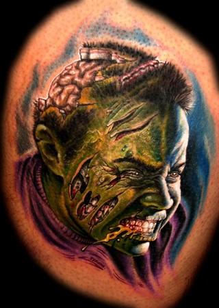 Tattoos - Zombie-fied portrait - 33946