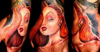 Tattoos - Jessica Rabbit - 34340