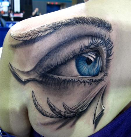 Tattoos - Orus eye - 58221
