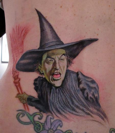 Tattoos - Wicked Witch Wizard of Oz - 61010