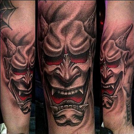 Tattoos - Hannya Mask Tattoo - 65495