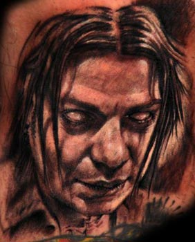 Tattoos - Tony Romel portrait - 33077