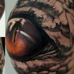 Tattoos - Knee Eye - 102186