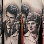 Tattoos - Grand Parents Portrait - 102272