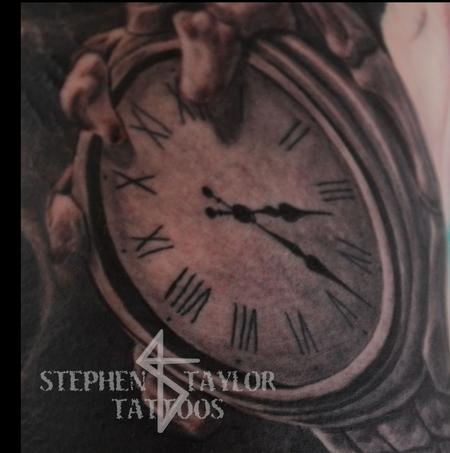 Tattoos - Death's Clock - 101795