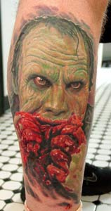 Tattoos - Horror Portrait - 14932