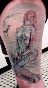 Tattoos - Bound Mermaid - 14942