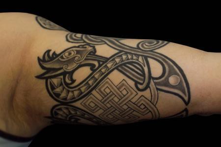Tattoos - Celtic Dragon - 138772