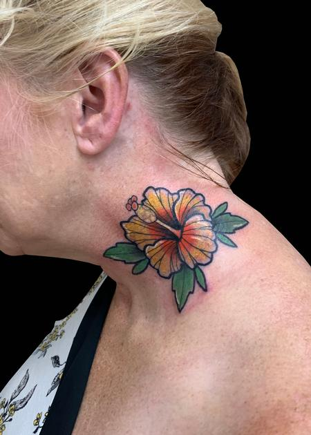 Tattoos - Hibiscus - 139769