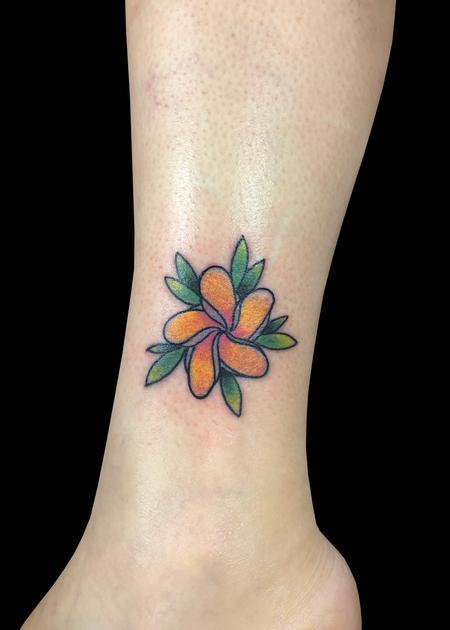 Tattoos - Plumeria - 139767