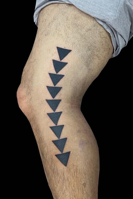 Tattoos - Polynesian Triangles - 139791