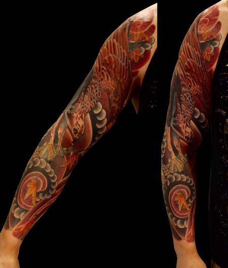 Trevor Aarsvold--Guest Artist - Bird sleeve