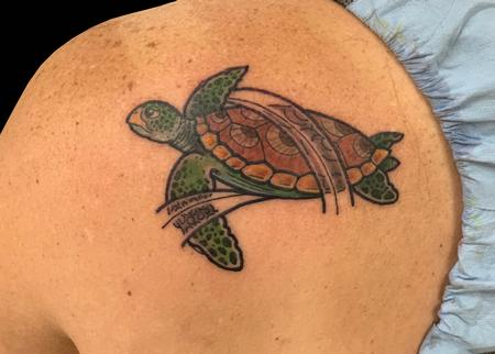 Tattoos - Turtle - 139777