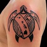 Tattoos - Polynesian Turtle - 139795