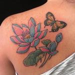 Tattoos - Lotus & Butterfly - 134087