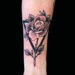 Tattoos - Rose Triangle - 137935