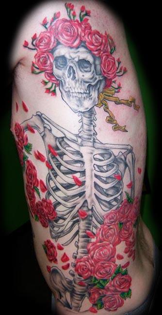 Tattoos - Grateful Dead Tattoo - 26194