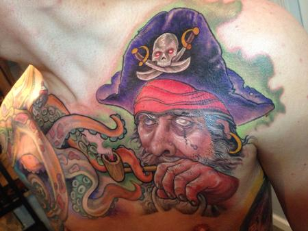 Tattoos -  Thieving Pirate Tattoo - 89836