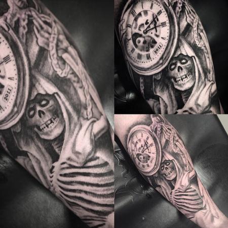 Tattoos - Life and Death Tattoo - 111344