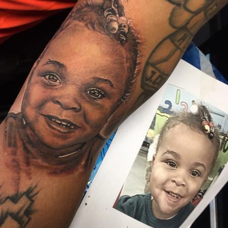 Tattoos - Realistic Portrait Tattoo - 104522