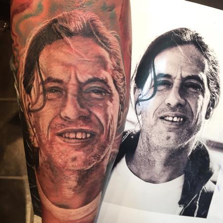Tattoos - Uncle Pat Memorial Tattoo - 104523