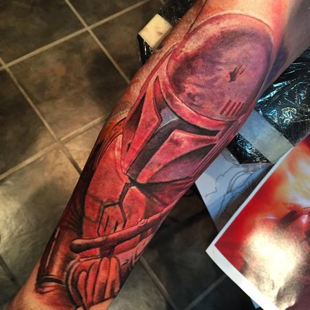 Tattoos - Boba Fett Tattoo - 104525