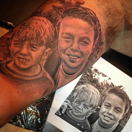 Tattoos - Family Portrait Tattoo - 108666