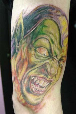 Tattoos - Green Goblin - 20961