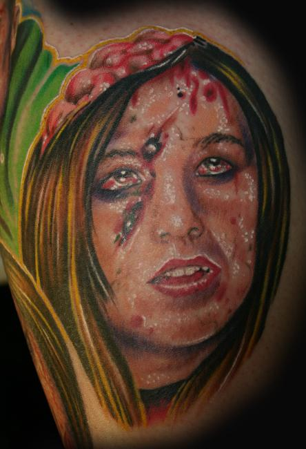Tattoos - Philly Tattoo Zombie 3 - 27916