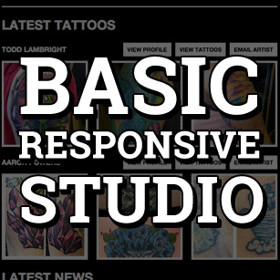 Basic Studio Responsive Website