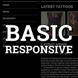 Basic Responsive Website