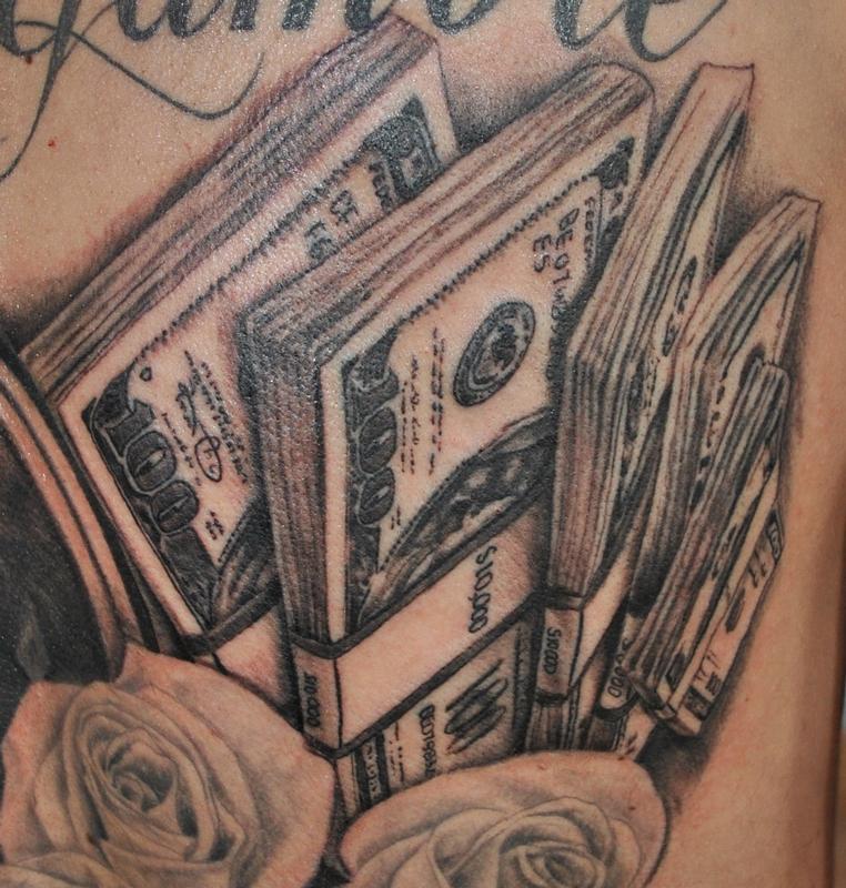 Tattoos money 20+ Money